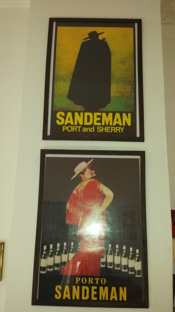 Sandeman-Poster Porto - Souvenirs