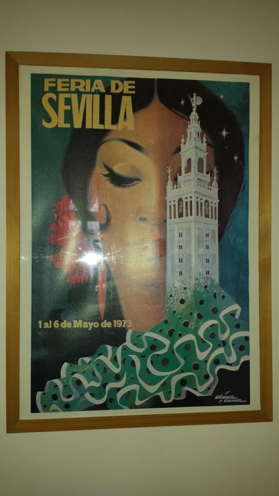 Poster Feria Sevilla - Souvenirs