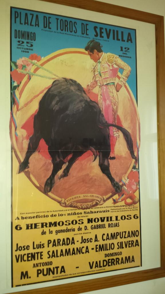 Stierkampf-Poster Sevilla - Souvenirs