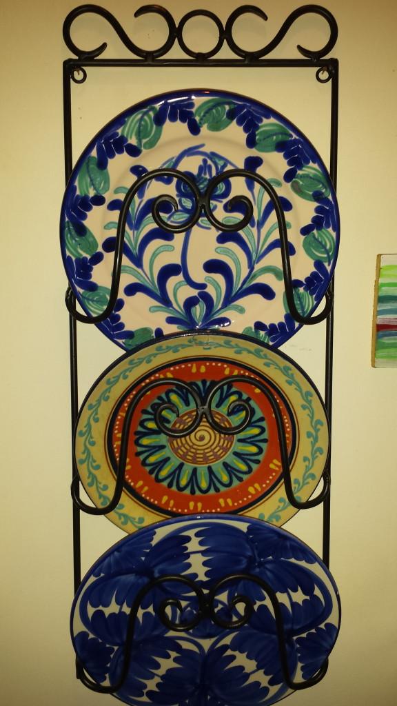 Bemalte Tonteller aus Andalusien - Souvenirs