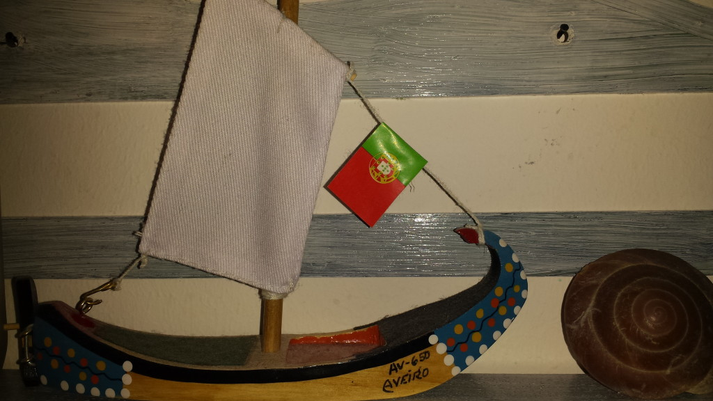 Holzboot aus Aveiro