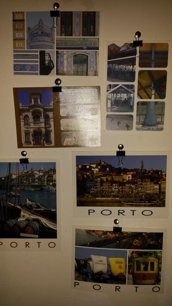 Postkarten Aveiro und Porto