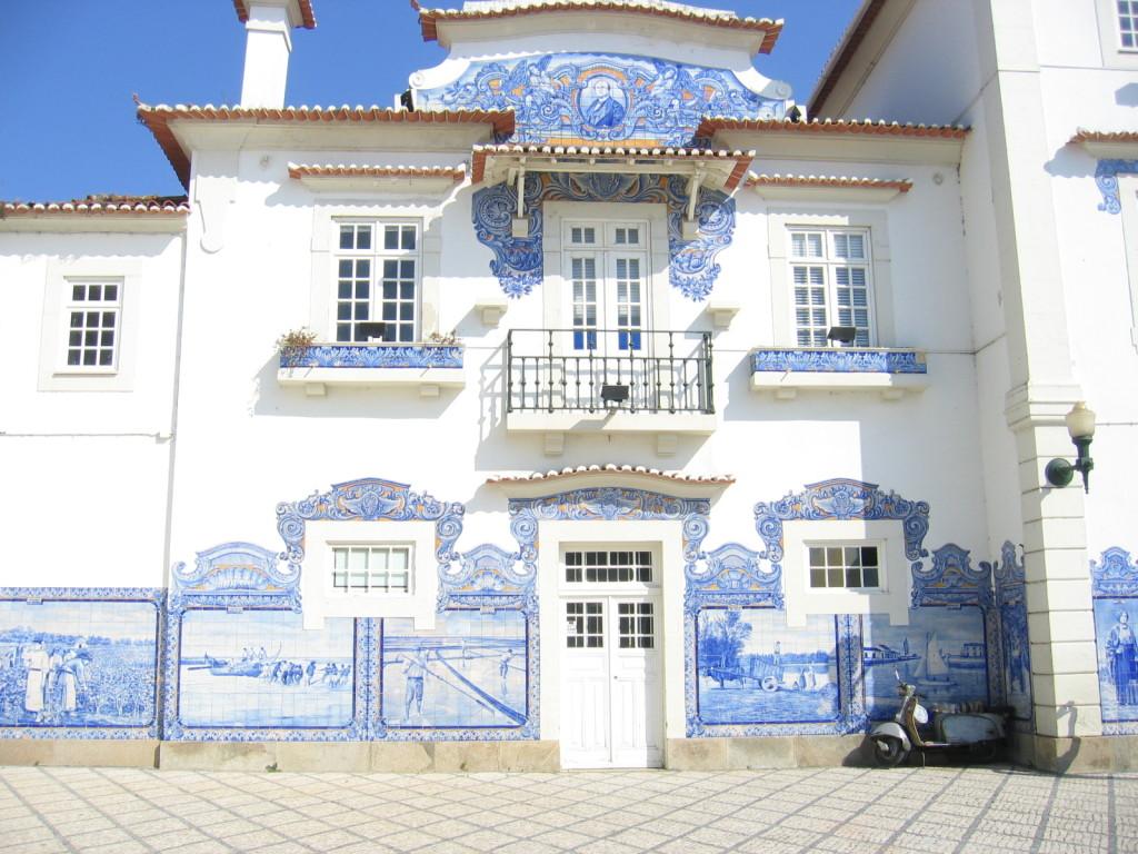 Aveiro Bahnhof