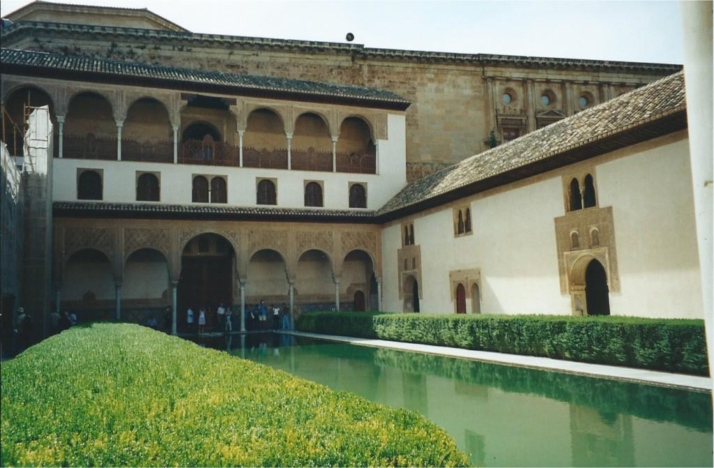 Alhambra Generalife Patio de la Acequia