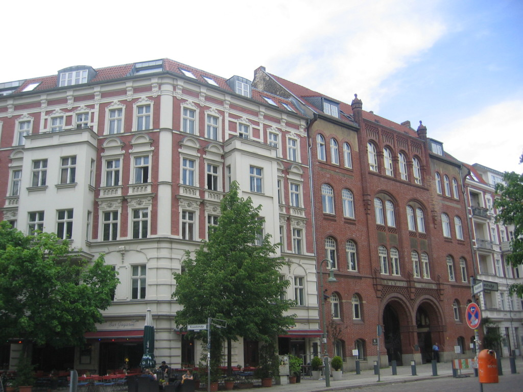 Rykestraße mit Synagoge