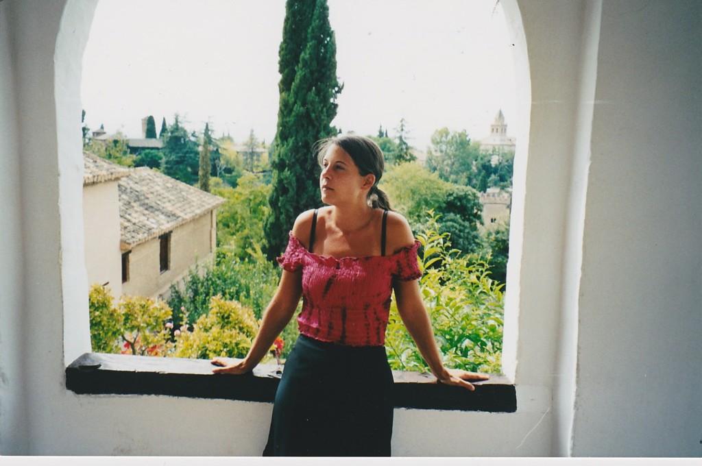 Ich in der Alhambra
