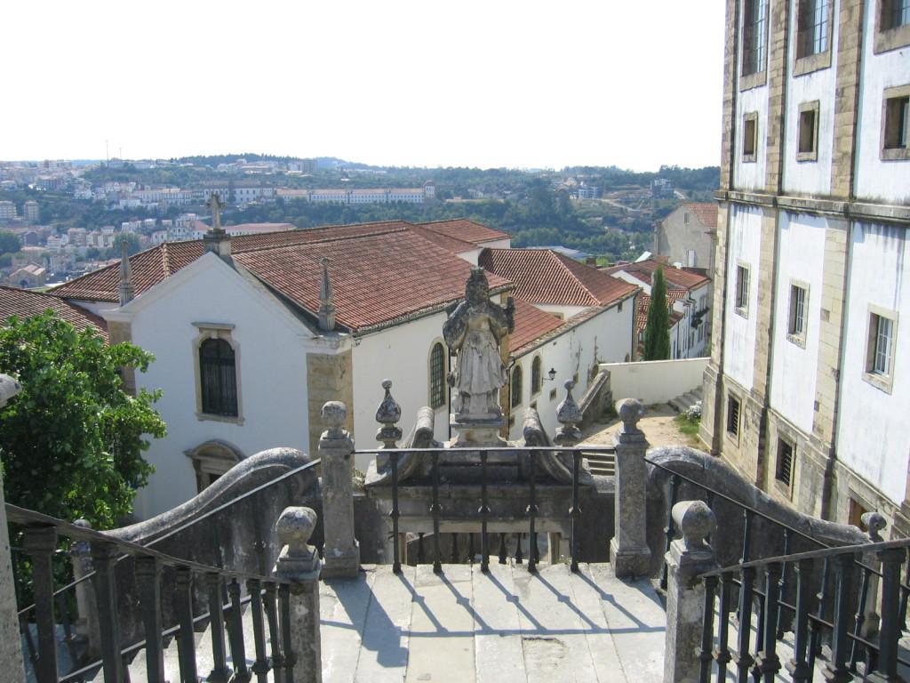 Porta e Escada da Minerva - Coimbra