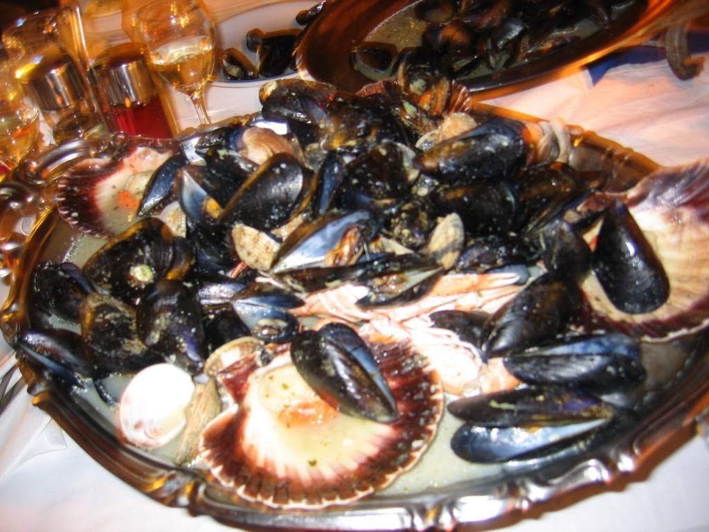 Meeresfrüchte im Frankopan