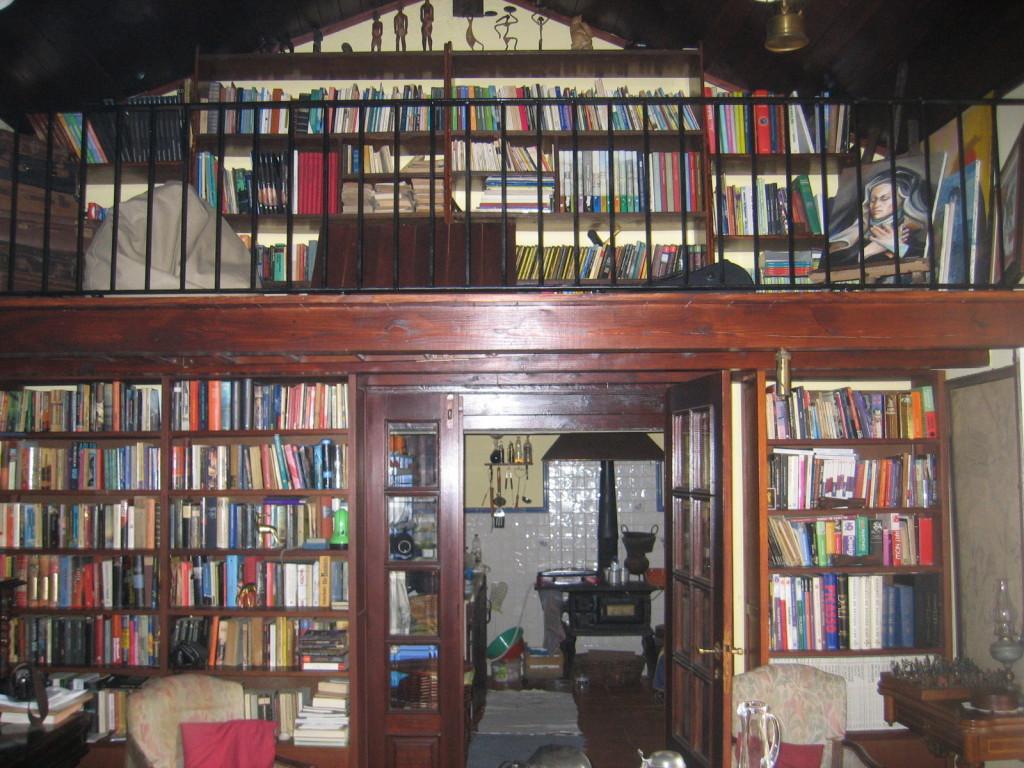 Bibliothek mit Galerie