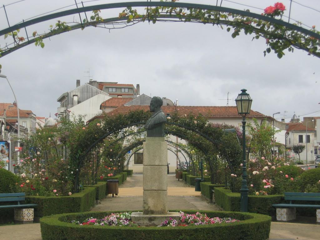 Rosengarten in Ovar