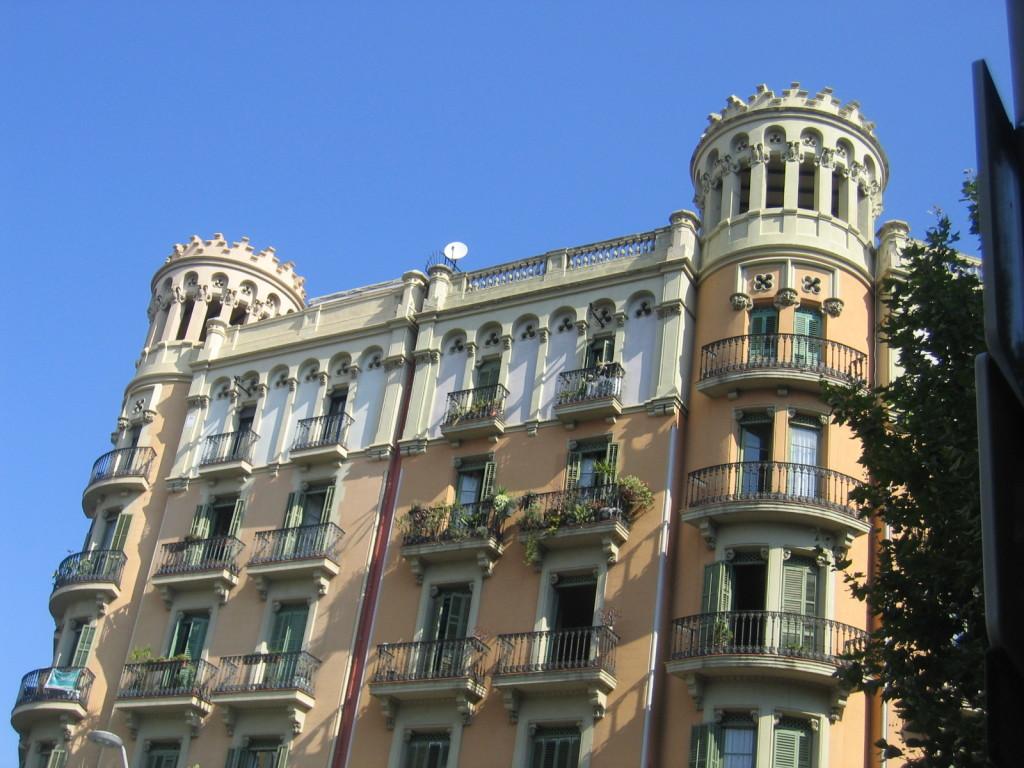 Häuser in Eixample