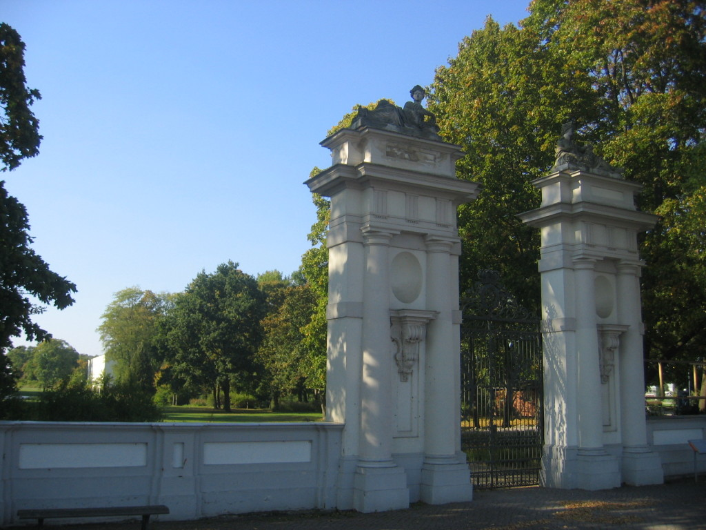 Eingangsportal Schlosspark