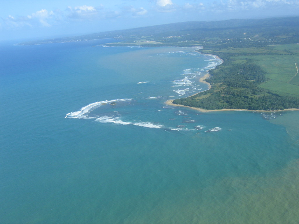 Anflug auf Puerto Plata