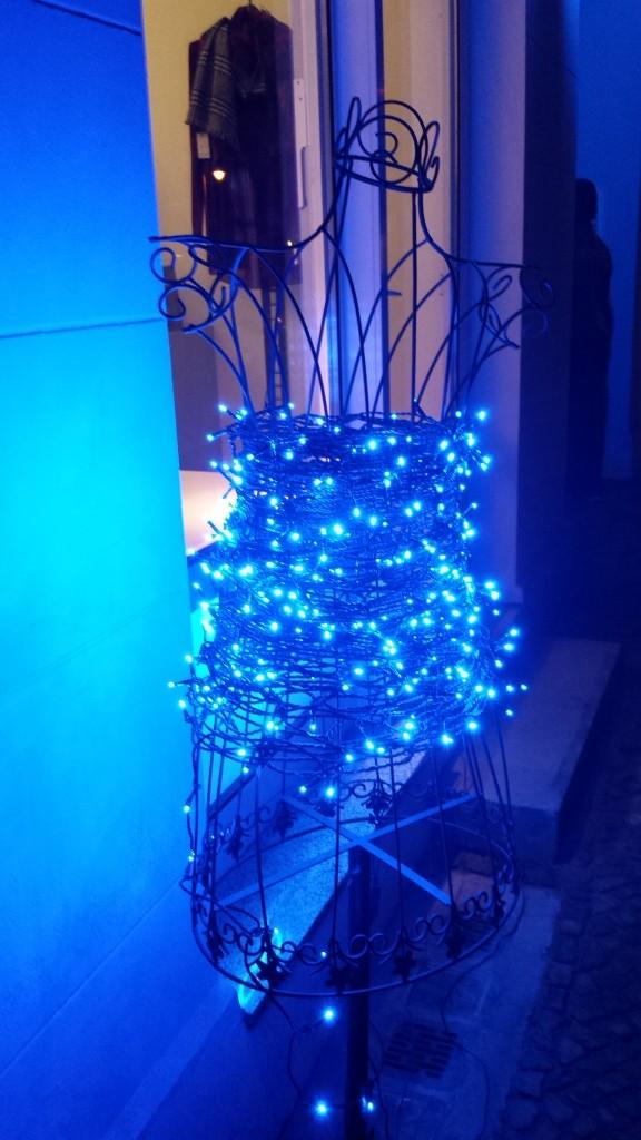 Beleuchtung in der Lychener Straße