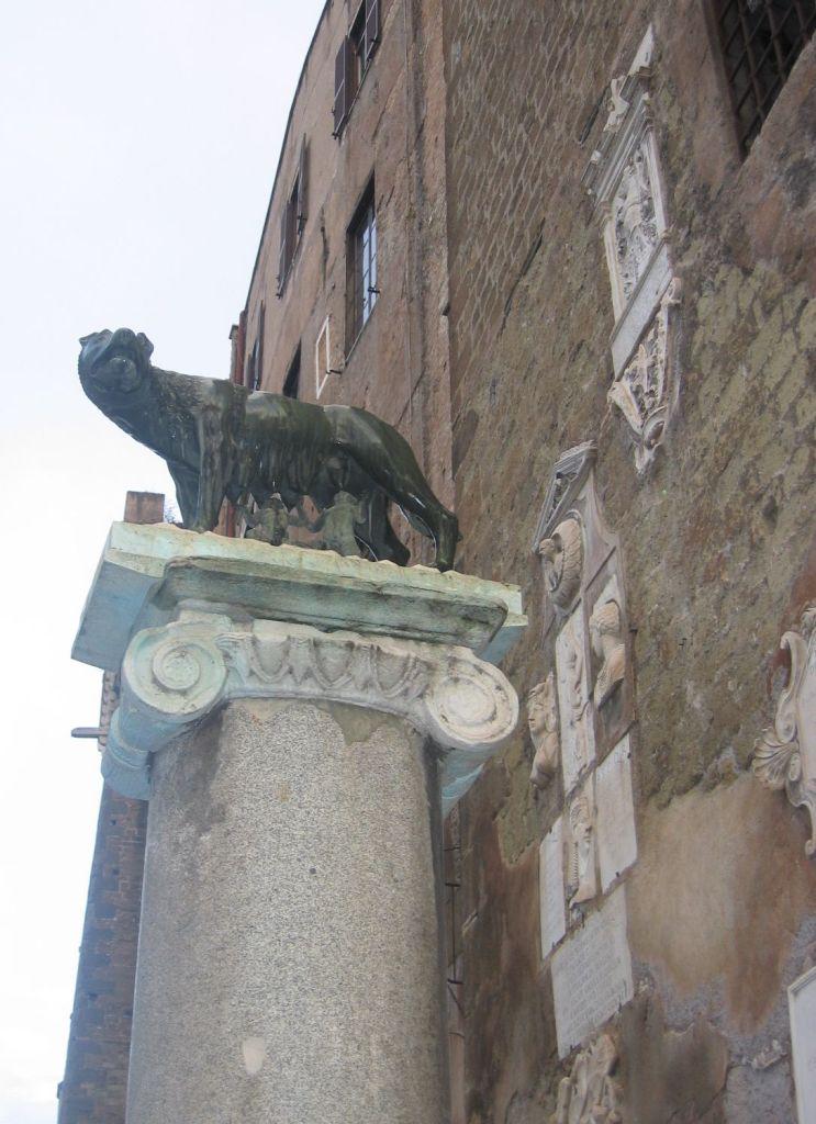 Musei Capitolini - Wölfin, Romulus und Remus