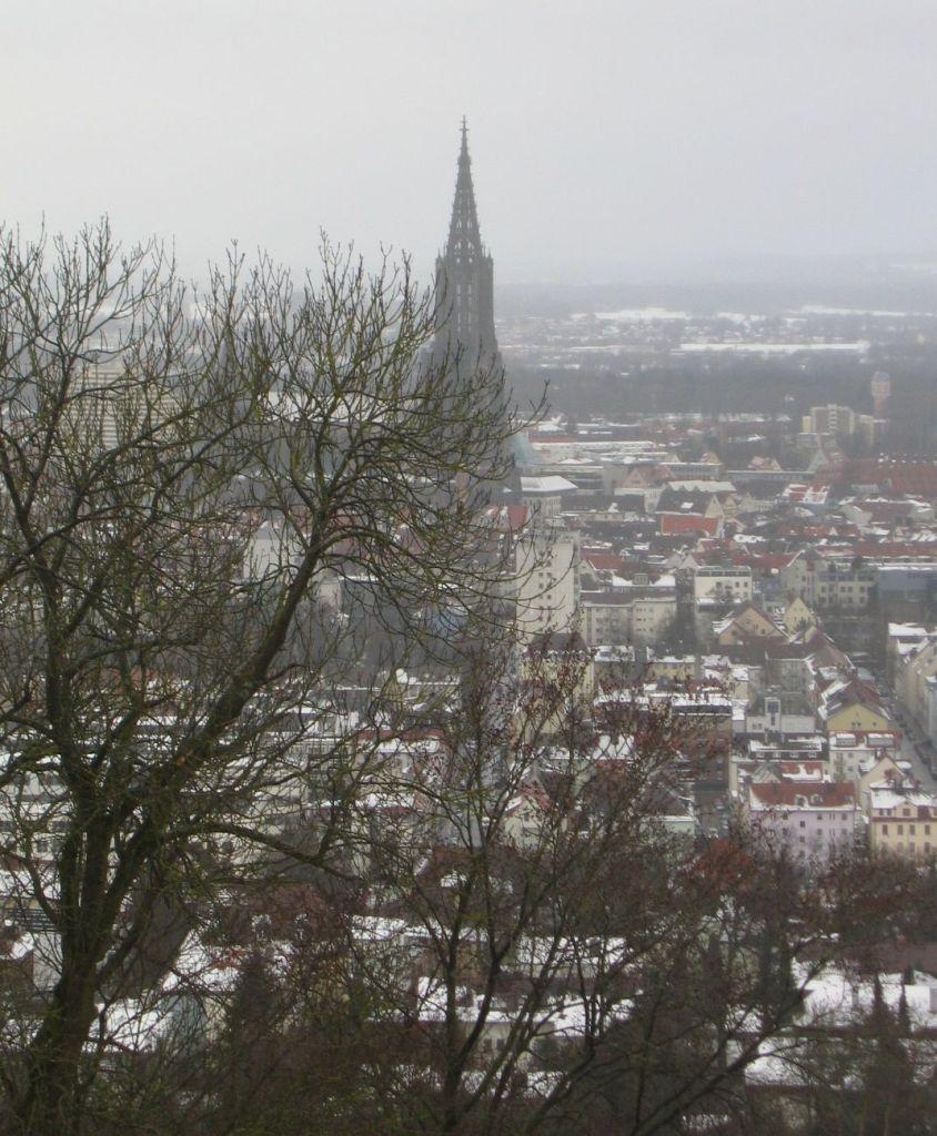 Blick auf die Stadt von der Bundesfestung