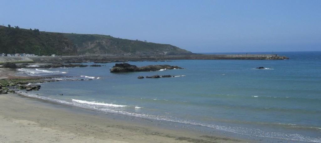 Strand von Luarca
