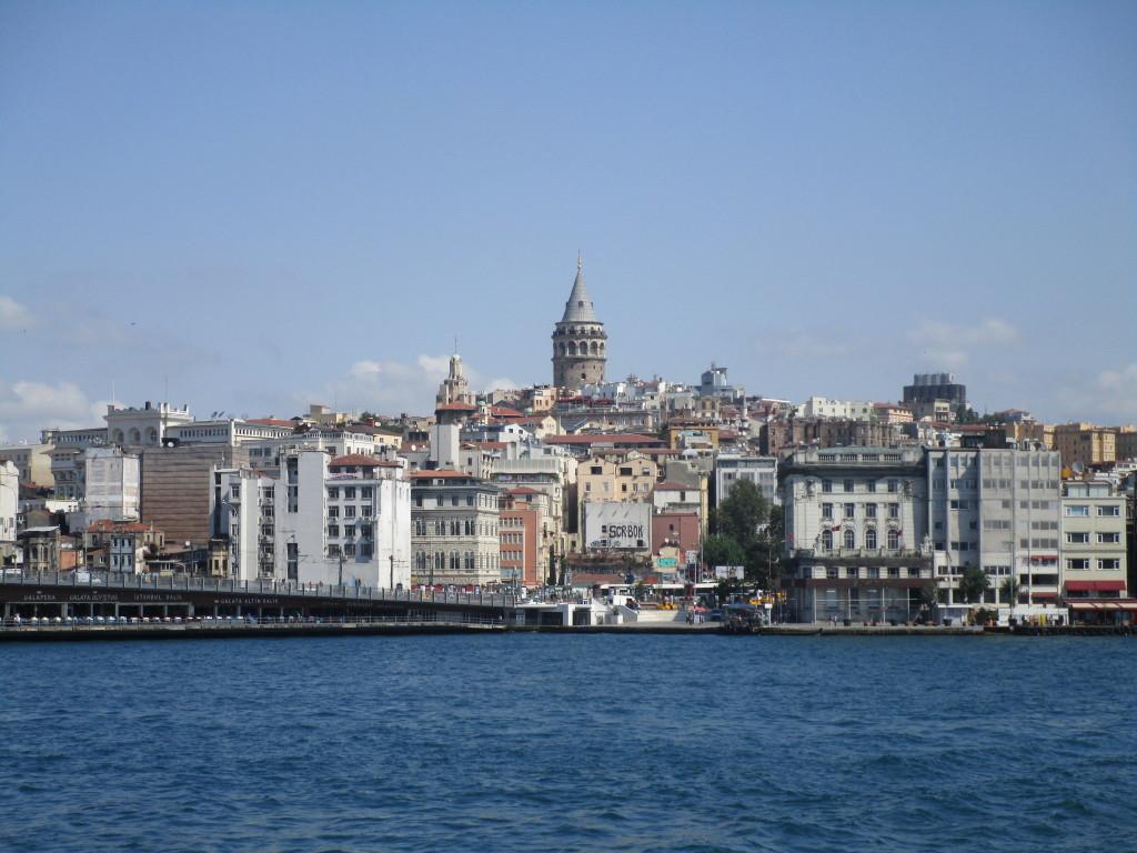 Blick auf Karaköy