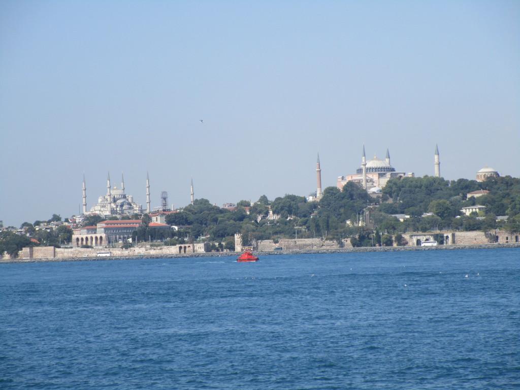 Blick auf das historische Zentrum