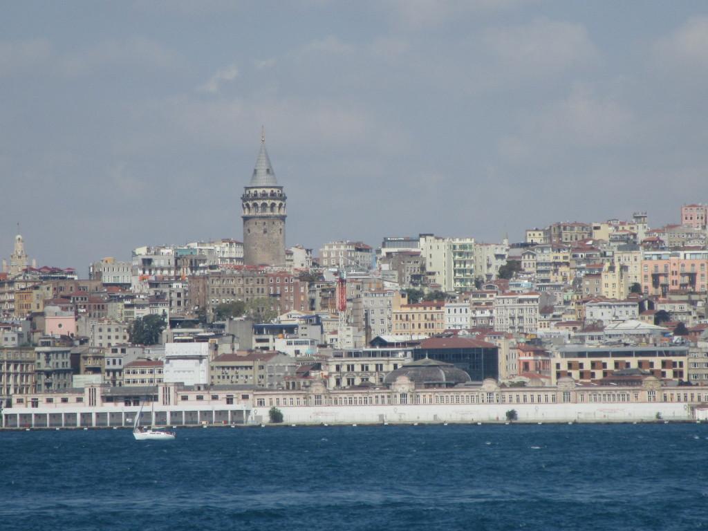 Blick auf den Galata-Turm