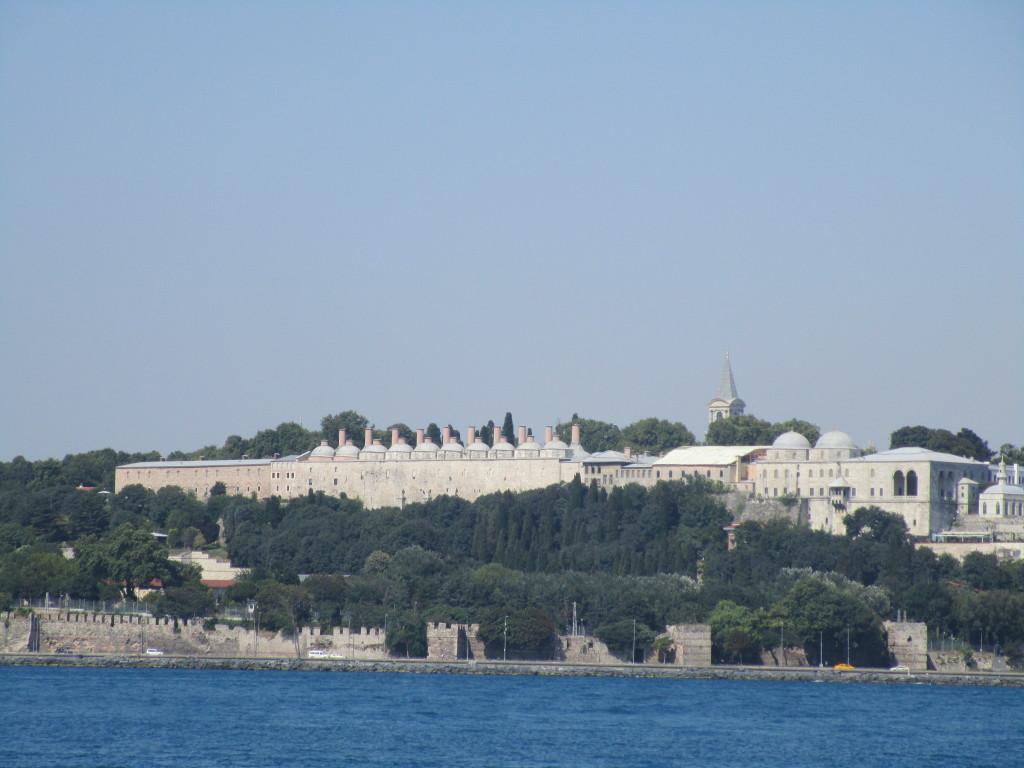 Blick auf den Topkapi-Palast