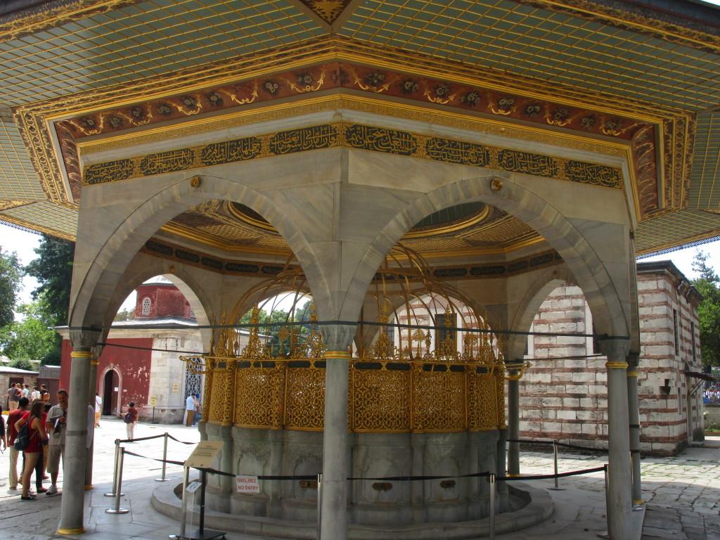 Brunnen der Aghia Sophia