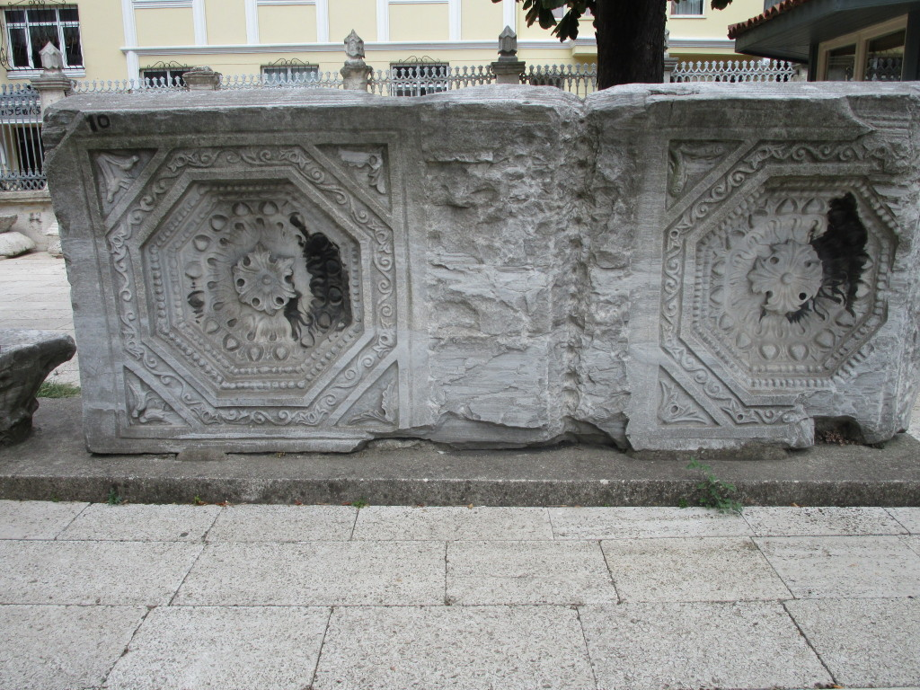 Im Hof der Aghia Sophia