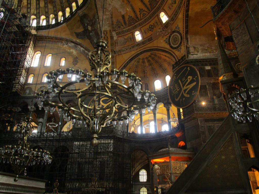 In der Aghia Sophia