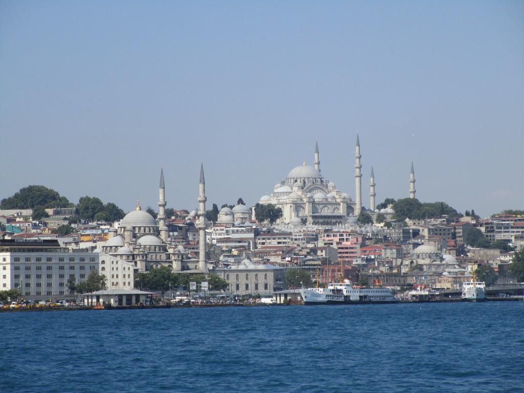 Yeni Camii und Süleymaniye Camii