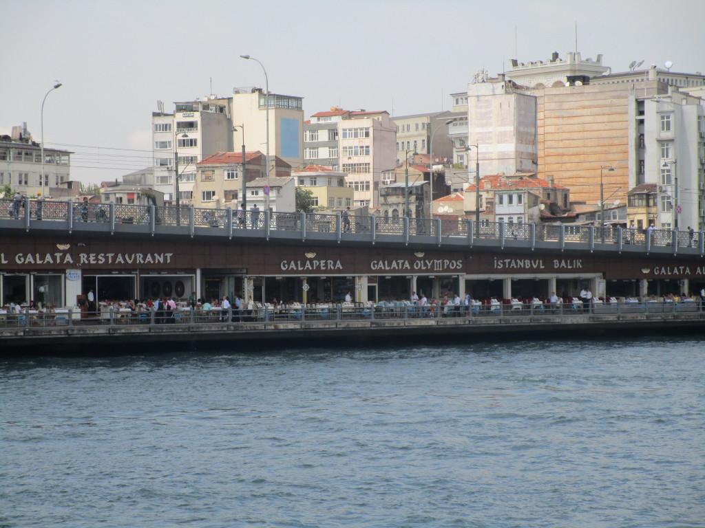 Restaurants Galatabrücke