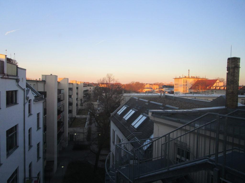 Ausblick Hostel