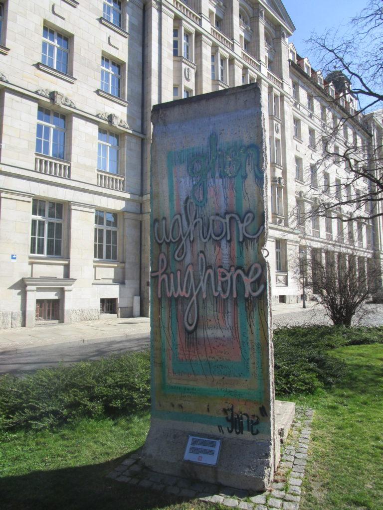 Stück Berliner Mauer