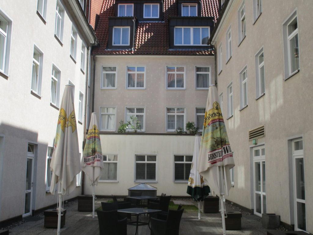 Innenhof Hotel