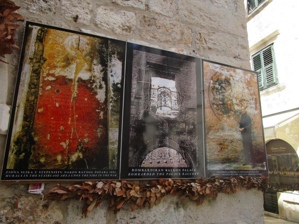 Gallery und Kriegsleiden des Künstlers Ivo Grbic
