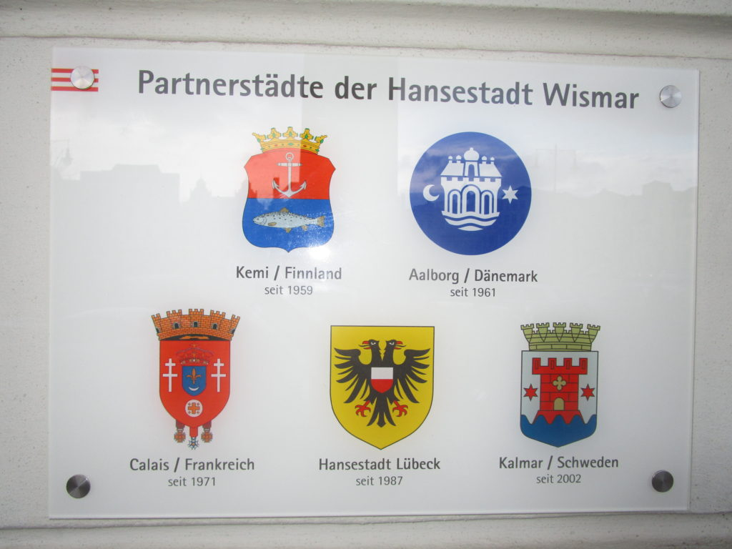 Wismars Partnerstädte