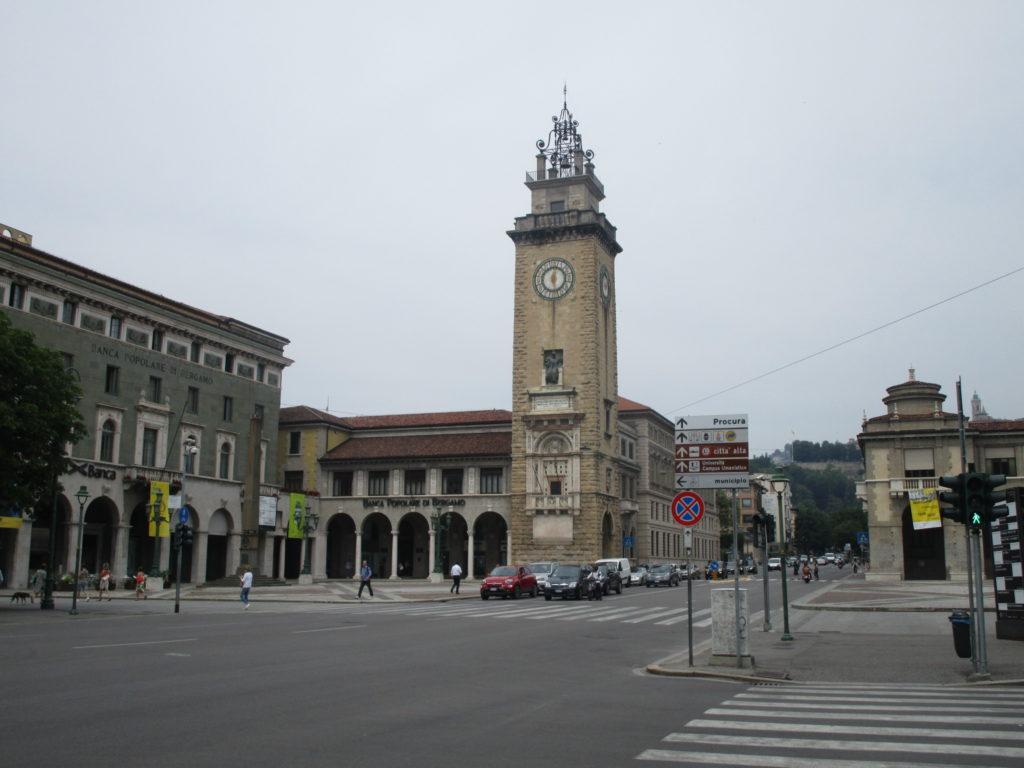 Bergamo Torre dei Caduti