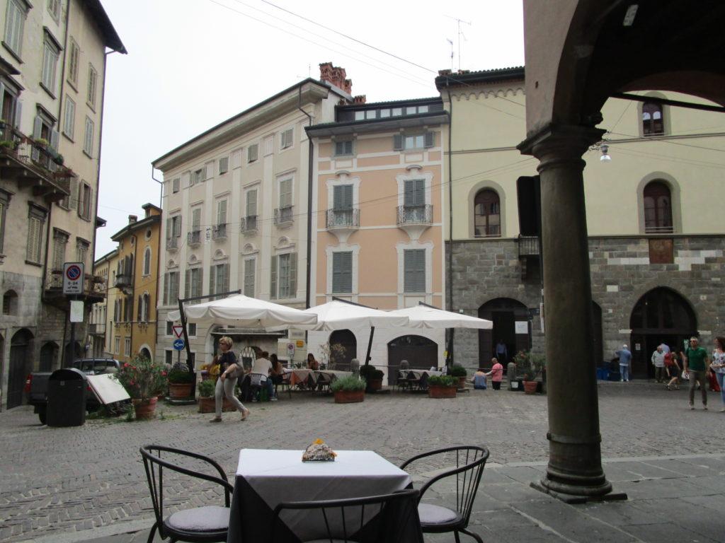 Citta Alta Piazza delle Scarpe
