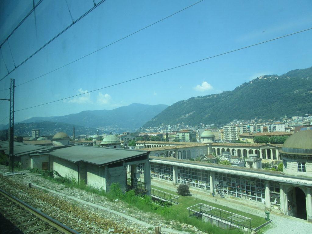 Zugfahrt nach Como