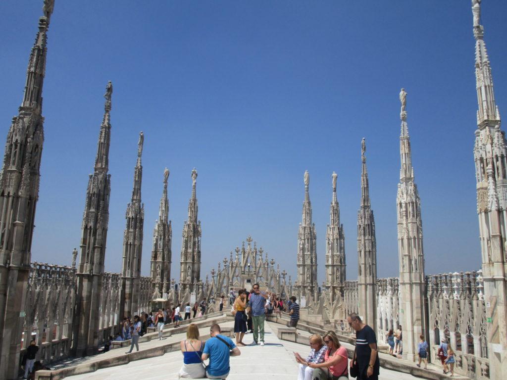 Auf dem Dach des Duomo