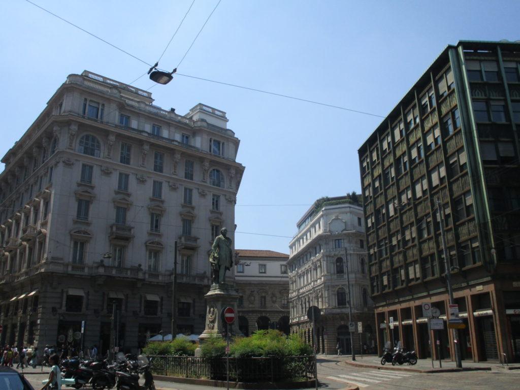 Unterwegs zur Porta Garibaldi
