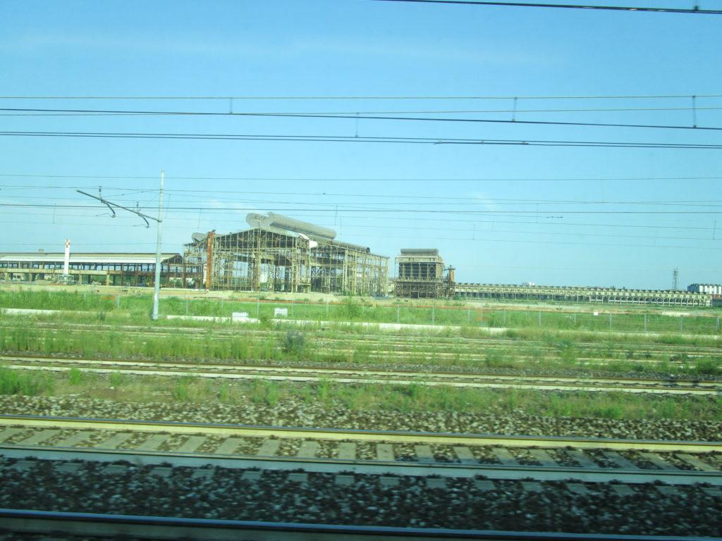 Zugfahrt Como - Milano