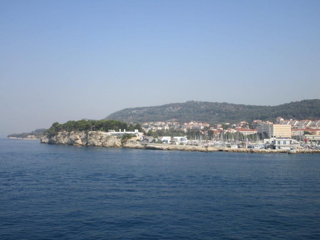 Fahrt nach Rogac auf Solta