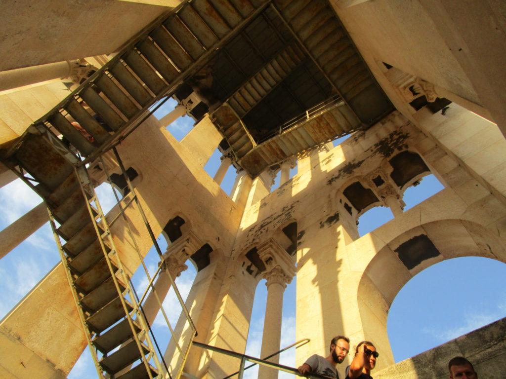 Auf dem Glockenturm